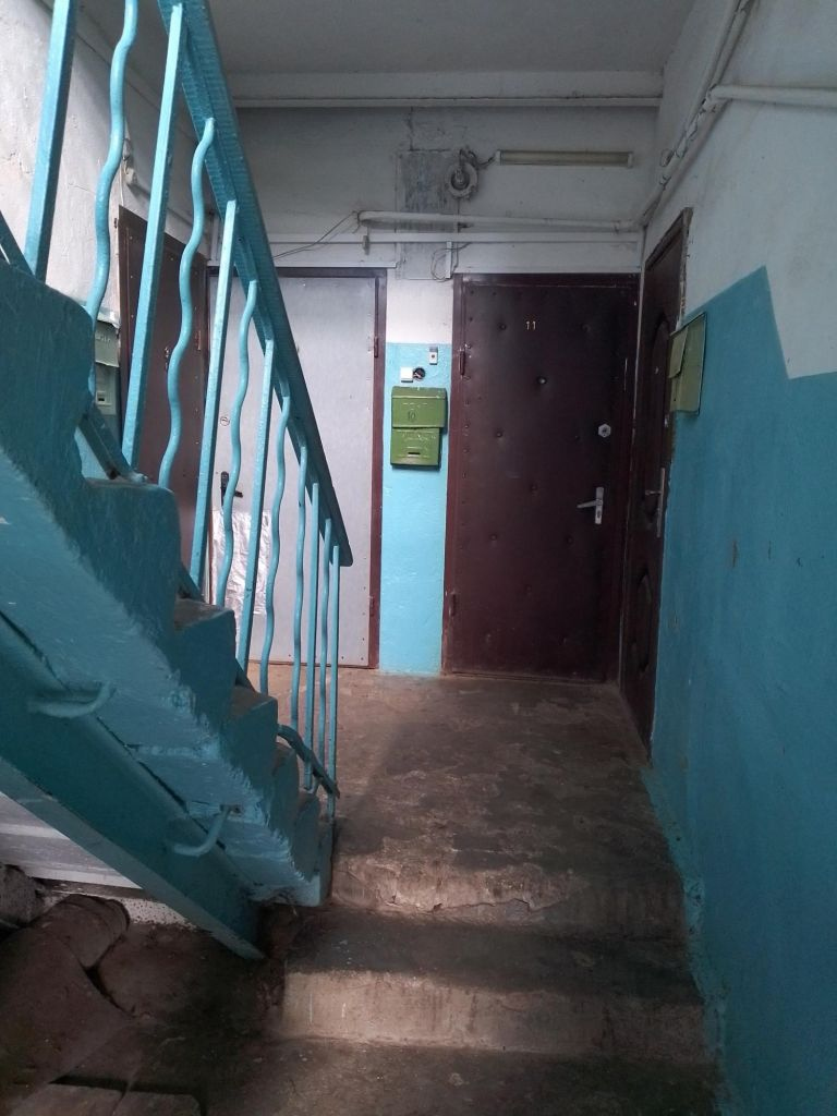 Продажа трёхкомнатной квартиры поселок Кировский, Тепличная улица 2, цена 2000000 рублей, 2021 год объявление №464197 на megabaz.ru