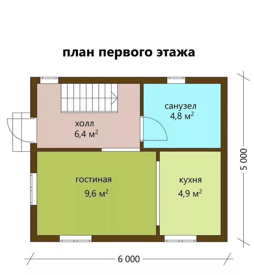 Продажа дома поселок Новая Ольховка, цена 2600000 рублей, 2021 год объявление №451743 на megabaz.ru