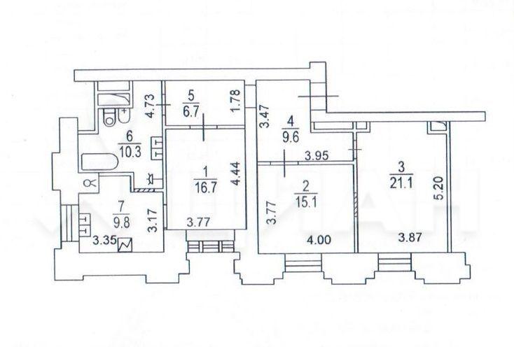 Аренда трёхкомнатной квартиры Москва, метро Баррикадная, Кудринская площадь 1, цена 220000 рублей, 2021 год объявление №1036494 на megabaz.ru