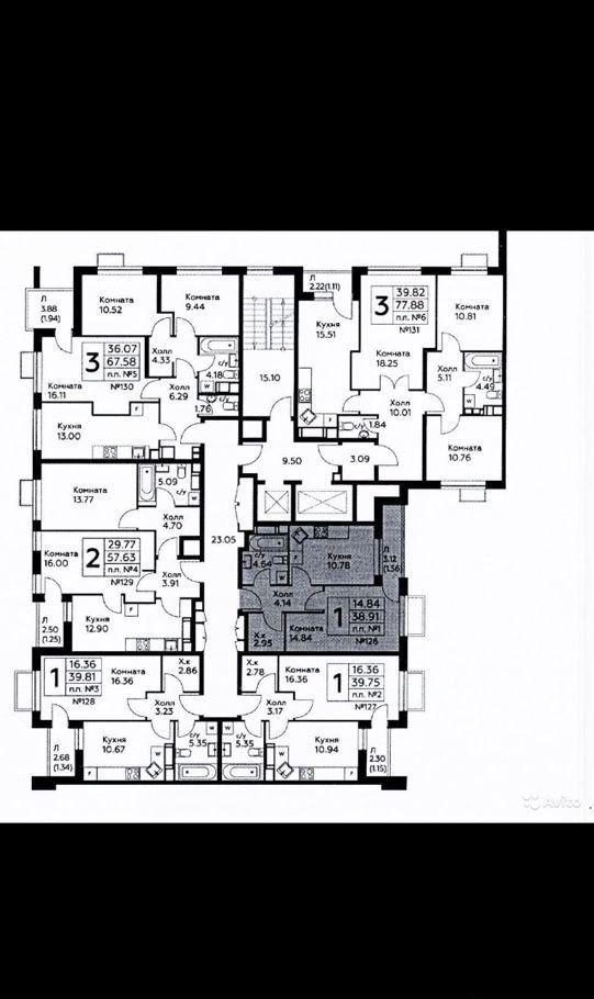 Продажа однокомнатной квартиры село Воскресенское, цена 6430000 рублей, 2020 год объявление №470441 на megabaz.ru