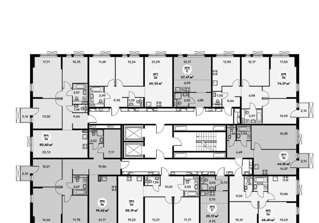 Продажа трёхкомнатной квартиры Москва, метро Савеловская, цена 15400000 рублей, 2021 год объявление №432637 на megabaz.ru