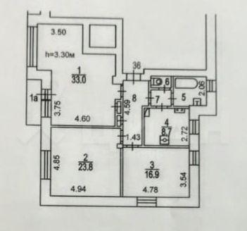 Продажа четырёхкомнатной квартиры Москва, метро Лубянка, Большой Златоустинский переулок 3/5с1, цена 49500000 рублей, 2021 год объявление №410896 на megabaz.ru