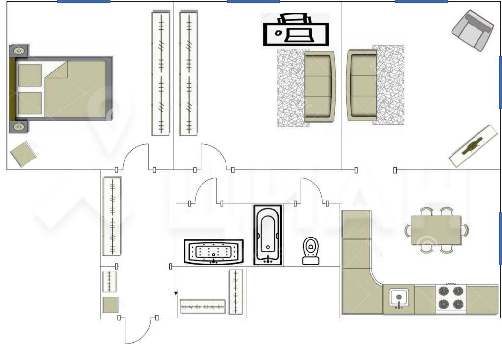 Продажа трёхкомнатной квартиры Москва, метро Автозаводская, Автозаводская улица 6, цена 21975000 рублей, 2021 год объявление №426155 на megabaz.ru
