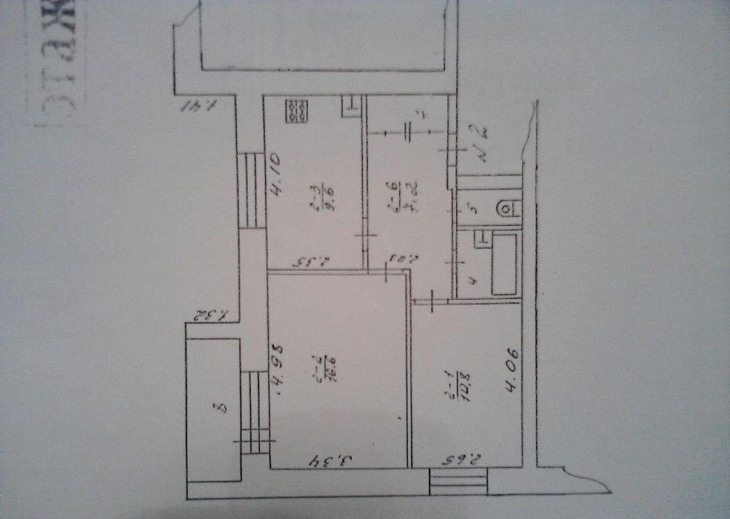 Продажа двухкомнатной квартиры поселок Кировский, цена 1700000 рублей, 2020 год объявление №431659 на megabaz.ru