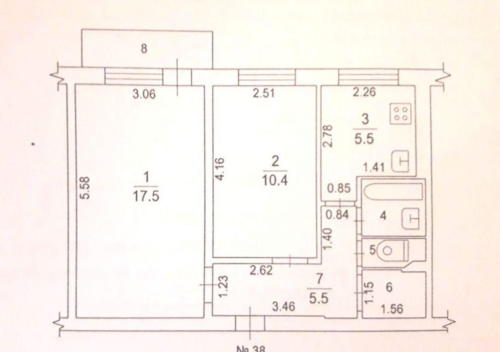Продажа двухкомнатной квартиры деревня Нестерово, цена 2500000 рублей, 2020 год объявление №455060 на megabaz.ru