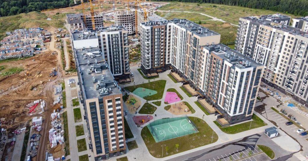 Продажа однокомнатной квартиры село Воскресенское, цена 5375000 рублей, 2020 год объявление №486051 на megabaz.ru