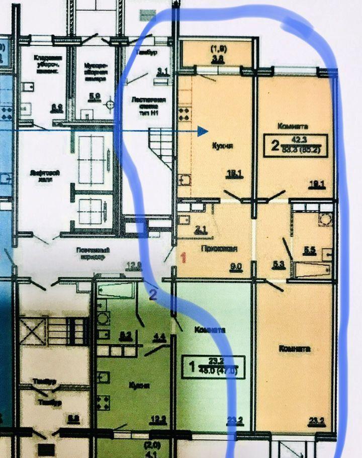 Продажа двухкомнатной квартиры Королёв, улица Орджоникидзе 2Г, цена 8000000 рублей, 2020 год объявление №507571 на megabaz.ru