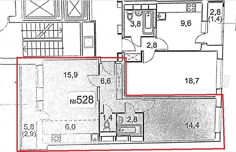 Продажа двухкомнатной квартиры Мытищи, метро Медведково, проспект Астрахова 5, цена 9550000 рублей, 2021 год объявление №555843 на megabaz.ru