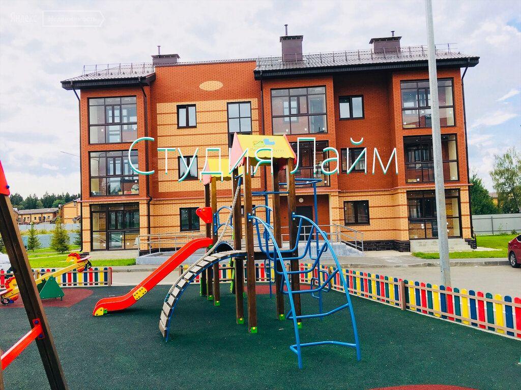 Продажа двухкомнатной квартиры деревня Шолохово, улица Экодолье 6, цена 4600000 рублей, 2021 год объявление №457826 на megabaz.ru