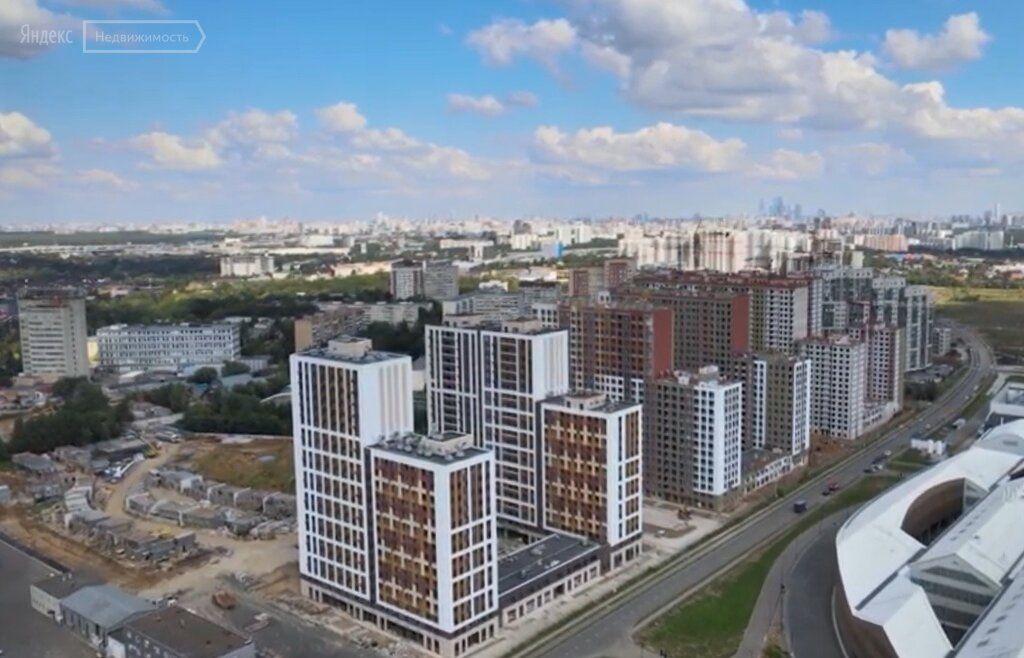 Продажа однокомнатной квартиры рабочий поселок Новоивановское, цена 5500000 рублей, 2020 год объявление №511305 на megabaz.ru