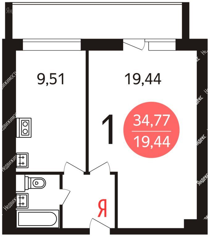 Продажа однокомнатной квартиры Москва, метро Рязанский проспект, Зеленодольская улица 7к7, цена 8400000 рублей, 2021 год объявление №598516 на megabaz.ru