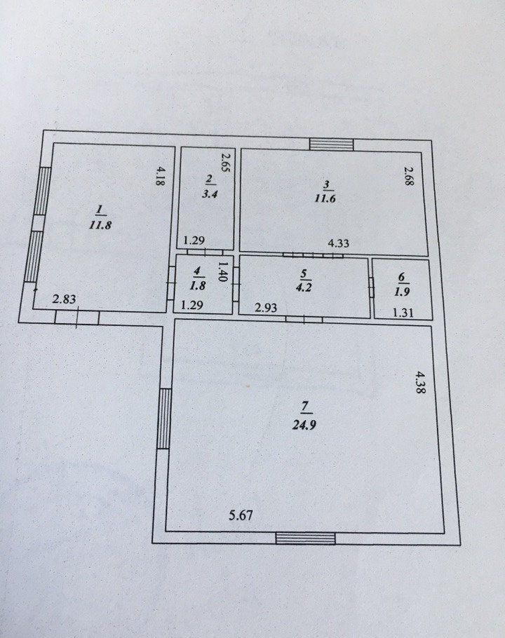 Продажа дома поселок Любучаны, Октябрьская улица, цена 2100000 рублей, 2020 год объявление №359789 на megabaz.ru