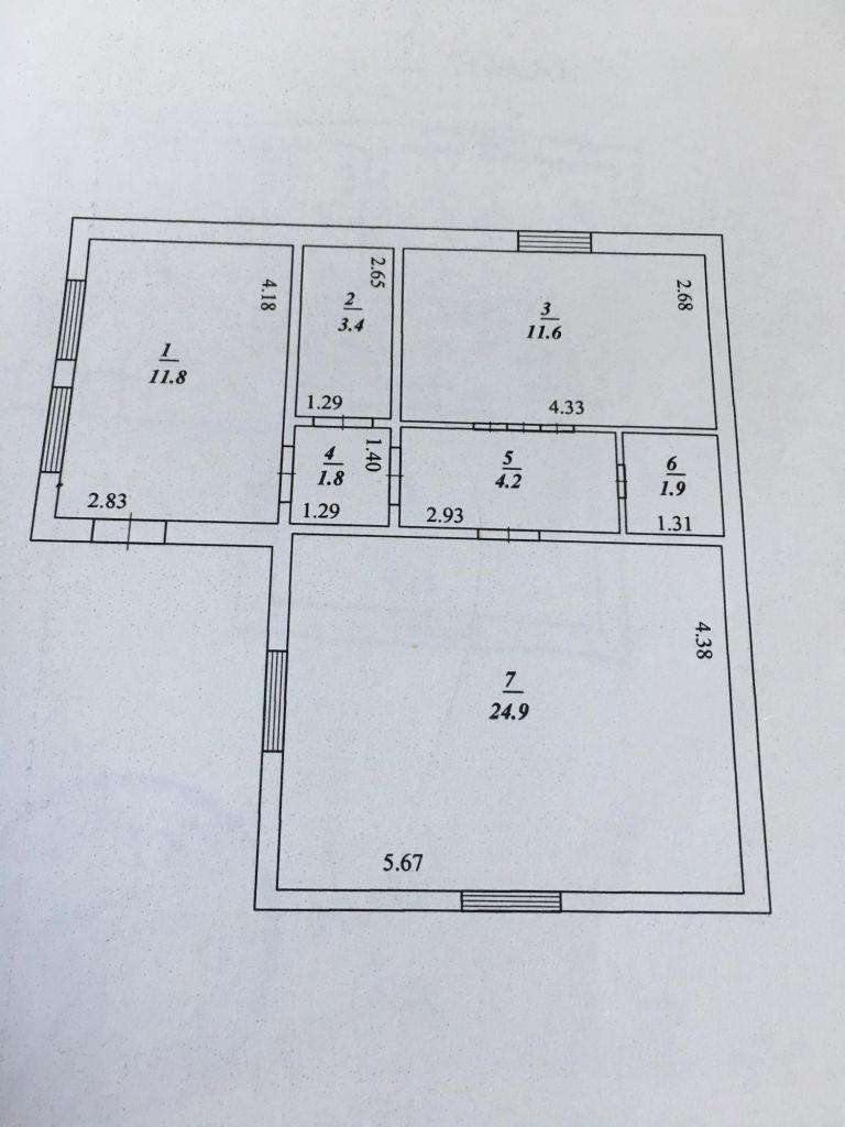 Продажа дома поселок Любучаны, Октябрьская улица 35, цена 2100000 рублей, 2020 год объявление №359788 на megabaz.ru