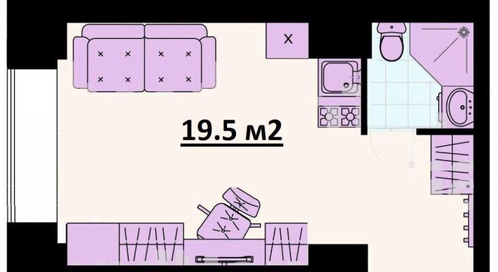 Продажа студии Москва, метро Менделеевская, Лесная улица 35/2, цена 5390000 рублей, 2020 год объявление №452696 на megabaz.ru