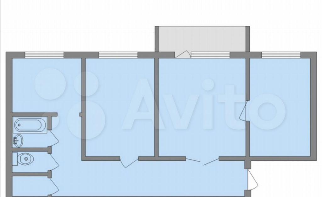 Продажа трёхкомнатной квартиры деревня Новая Купавна, цена 7120000 рублей, 2021 год объявление №613649 на megabaz.ru