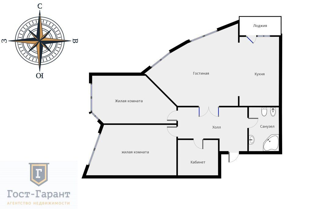 Продажа трёхкомнатной квартиры Москва, метро Строгино, улица Твардовского 14к3, цена 31500000 рублей, 2020 год объявление №539295 на megabaz.ru