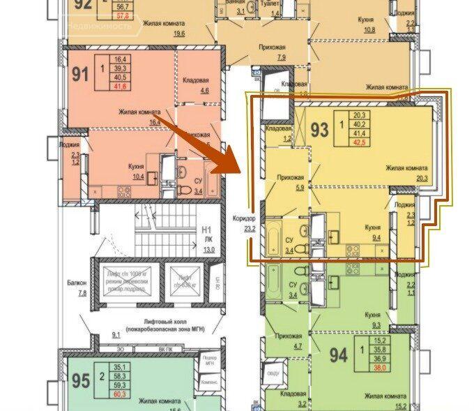 Продажа однокомнатной квартиры рабочий поселок Новоивановское, цена 6150000 рублей, 2021 год объявление №481350 на megabaz.ru