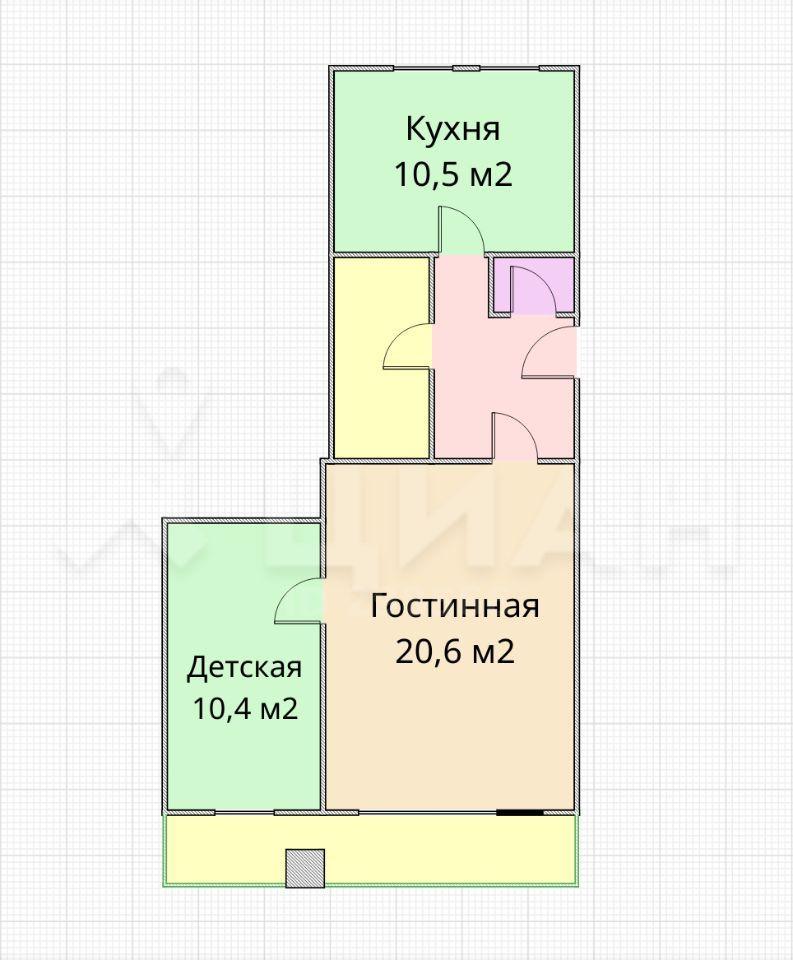 Продажа двухкомнатной квартиры Москва, метро Рижская, проспект Мира 70, цена 14100000 рублей, 2020 год объявление №395288 на megabaz.ru