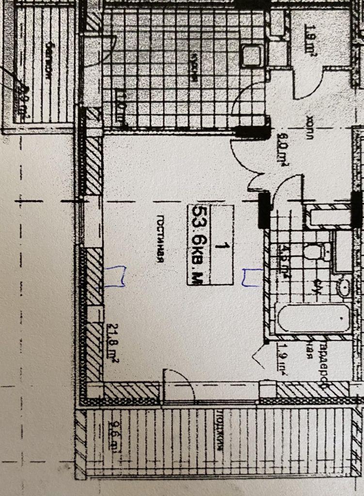 Продажа однокомнатной квартиры поселок Поведники, Санаторная улица 5А, цена 7500000 рублей, 2020 год объявление №470103 на megabaz.ru