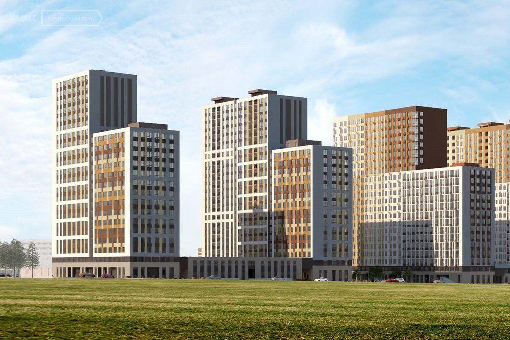 Продажа студии рабочий поселок Новоивановское, цена 4100000 рублей, 2021 год объявление №467164 на megabaz.ru