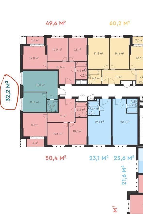 Продажа однокомнатной квартиры Москва, метро Свиблово, Лосиноостровская улица 45к4, цена 4100000 рублей, 2021 год объявление №448134 на megabaz.ru