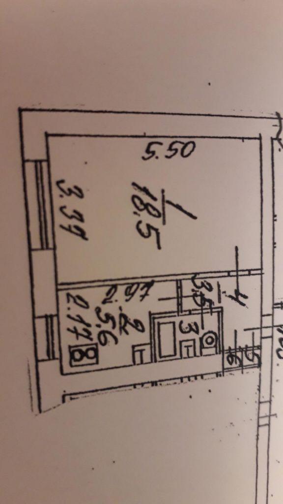 Продажа однокомнатной квартиры Пущино, цена 1800000 рублей, 2021 год объявление №468326 на megabaz.ru