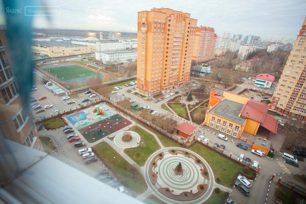 Продажа трёхкомнатной квартиры поселок совхоза имени Ленина, метро Домодедовская, цена 17950000 рублей, 2021 год объявление №478863 на megabaz.ru