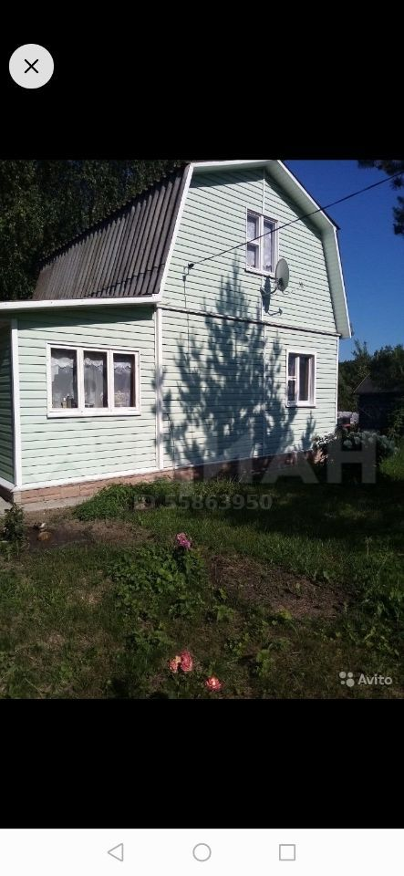 Продажа дома садовое товарищество Березка, цена 1000000 рублей, 2020 год объявление №474803 на megabaz.ru
