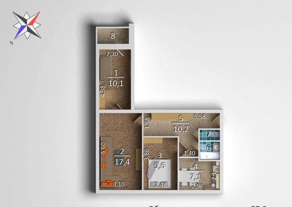 Продажа студии Реутов, улица имени Головашкина 10, цена 6990000 рублей, 2020 год объявление №472236 на megabaz.ru