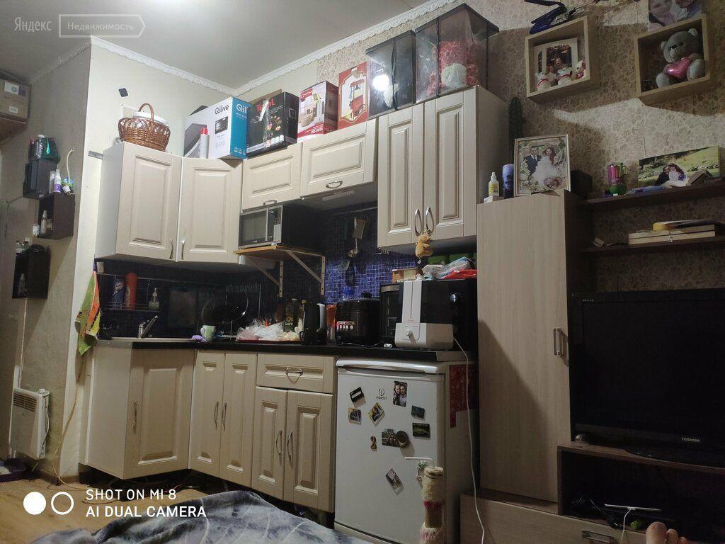 Продажа однокомнатной квартиры рабочий поселок Новоивановское, Вокзальная улица 7, цена 2700000 рублей, 2021 год объявление №419918 на megabaz.ru