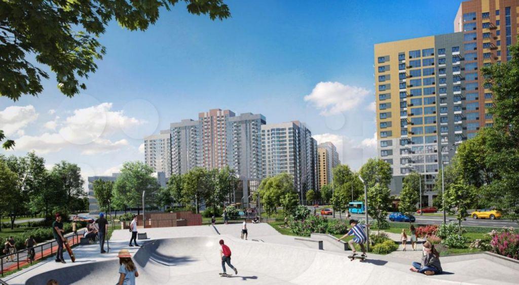Продажа трёхкомнатной квартиры поселок Битца, Парковая улица 2, цена 9660000 рублей, 2021 год объявление №618742 на megabaz.ru