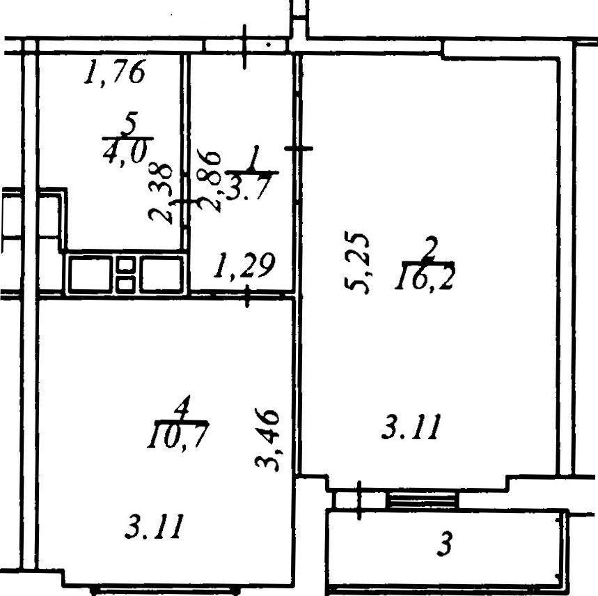 Продажа однокомнатной квартиры Старая Купавна, улица Кирова 21, цена 2450000 рублей, 2021 год объявление №504565 на megabaz.ru