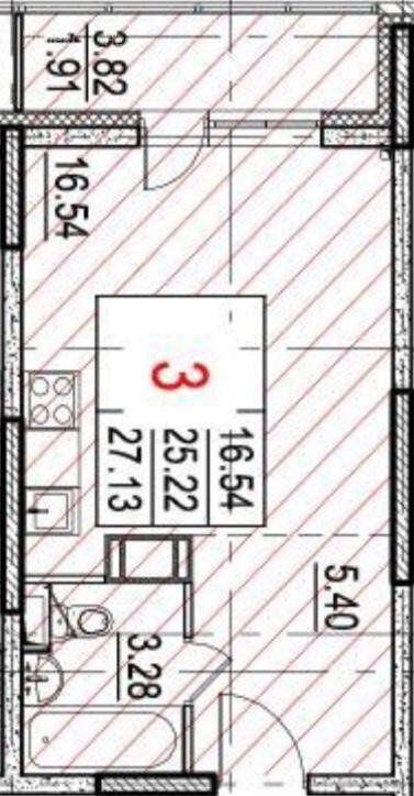 Продажа студии Москва, цена 3700000 рублей, 2020 год объявление №472183 на megabaz.ru