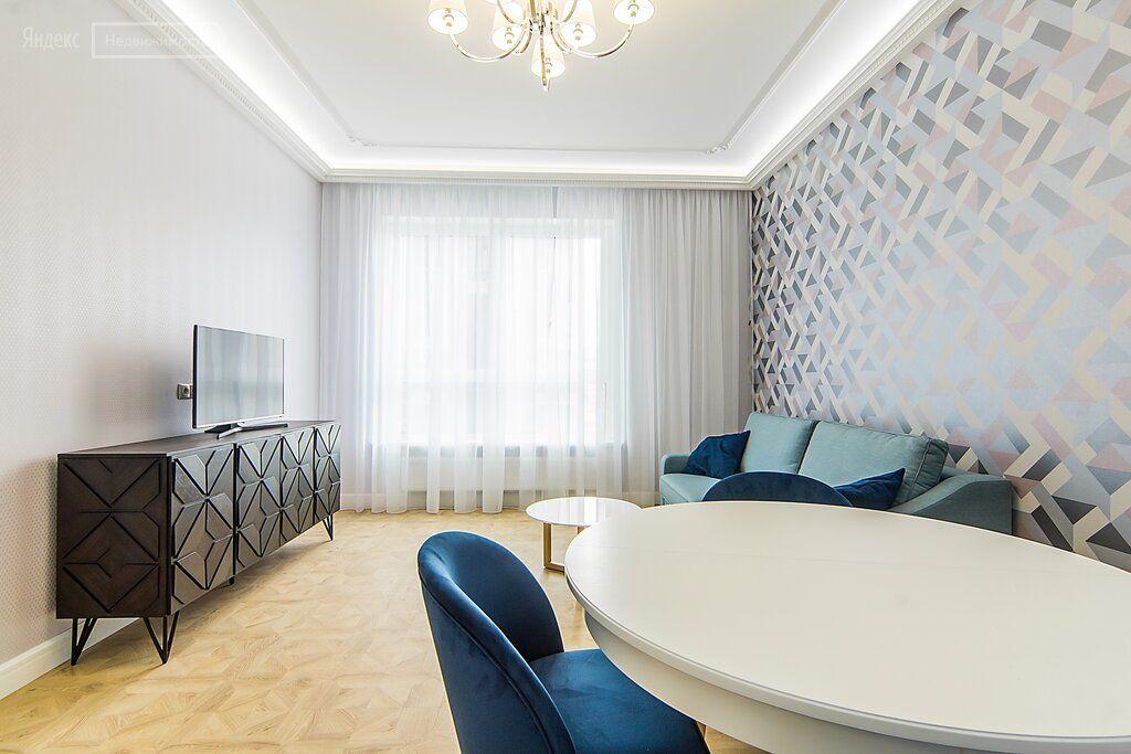 Аренда двухкомнатной квартиры Москва, метро Выставочная, Мантулинская улица 9к2, цена 150 рублей, 2021 год объявление №1244064 на megabaz.ru
