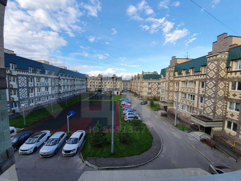 Аренда однокомнатной квартиры дачный посёлок Лесной Городок, Школьная улица 1, цена 27000 рублей, 2021 год объявление №1166503 на megabaz.ru