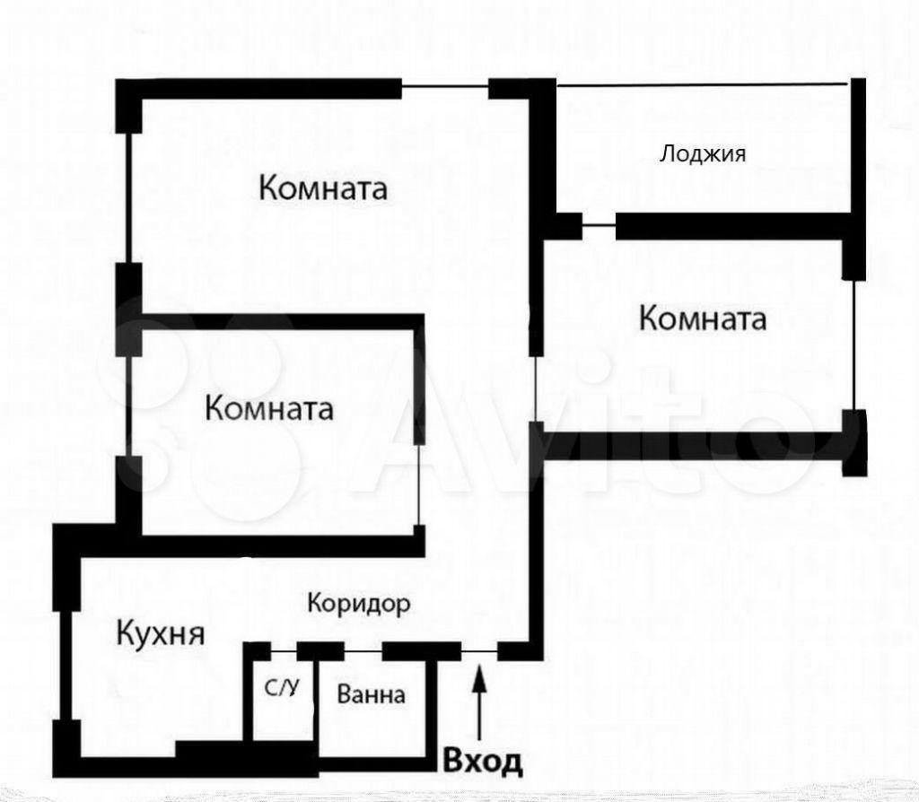Продажа трёхкомнатной квартиры Талдом, площадь К. Маркса 12, цена 3000000 рублей, 2021 год объявление №652669 на megabaz.ru
