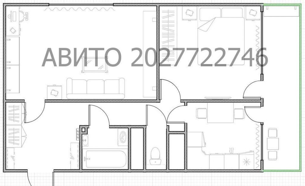 Аренда двухкомнатной квартиры Москва, метро Баррикадная, Зоологическая улица 12к1, цена 80000 рублей, 2021 год объявление №1270437 на megabaz.ru