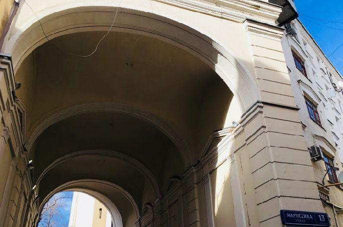 Продажа студии Москва, метро Лубянка, улица Маросейка 13с3, цена 6090000 рублей, 2021 год объявление №476730 на megabaz.ru