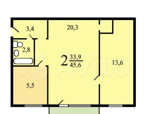 Продажа двухкомнатной квартиры Москва, метро Кузьминки, Зеленодольская улица 28к3, цена 8700000 рублей, 2021 год объявление №545221 на megabaz.ru