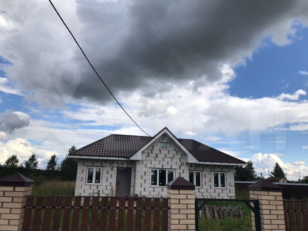 Продажа дома село Нижнее Хорошово, метро Выхино, Вишнёвая улица 13, цена 2350000 рублей, 2021 год объявление №477745 на megabaz.ru