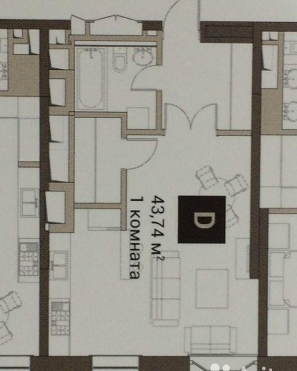 Продажа однокомнатной квартиры Москва, метро Шаболовская, цена 25500000 рублей, 2020 год объявление №361931 на megabaz.ru