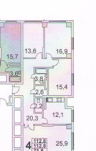 Продажа четырёхкомнатной квартиры Москва, метро Бульвар Рокоссовского, бульвар Маршала Рокоссовского 6к1Б, цена 25990000 рублей, 2020 год объявление №444365 на megabaz.ru