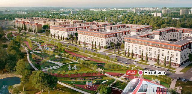 Продажа трёхкомнатной квартиры рабочий посёлок Нахабино, улица Белобородова, цена 6553974 рублей, 2021 год объявление №552842 на megabaz.ru