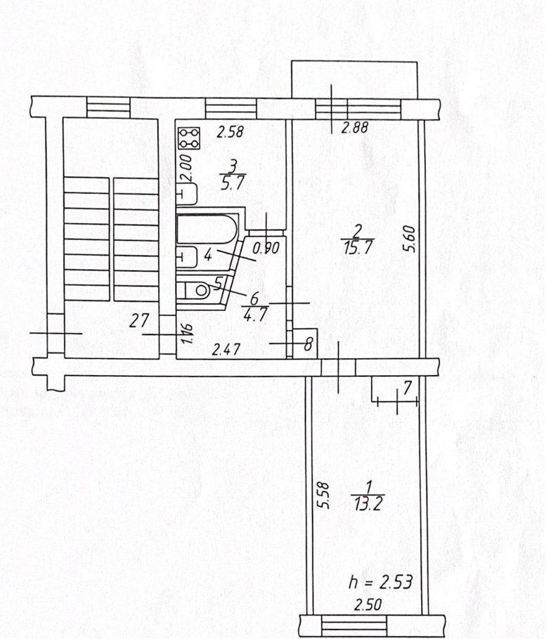 Продажа двухкомнатной квартиры поселок Авсюнино, улица Ленина 6А, цена 2000000 рублей, 2021 год объявление №479344 на megabaz.ru