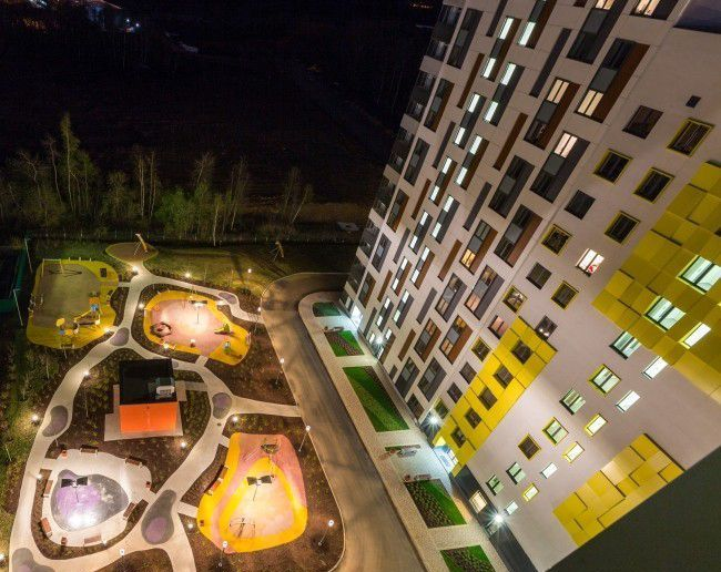 Продажа двухкомнатной квартиры поселок Отрадное, метро Пятницкое шоссе, Лесная улица 18, цена 7400000 рублей, 2020 год объявление №510096 на megabaz.ru