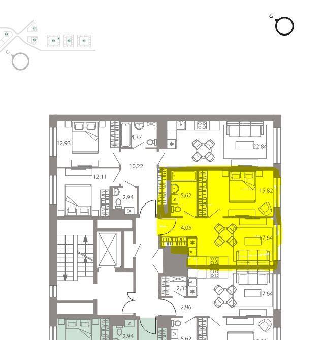 Продажа однокомнатной квартиры Москва, метро Варшавская, цена 7299999 рублей, 2020 год объявление №482161 на megabaz.ru