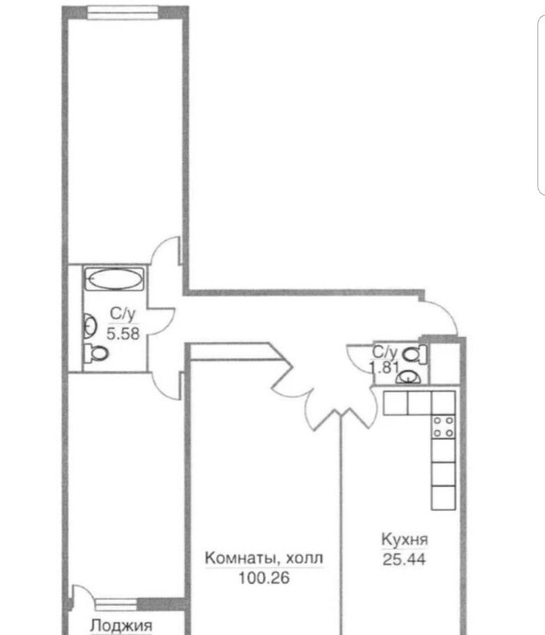 Продажа трёхкомнатной квартиры поселок Горки-10, цена 7400000 рублей, 2021 год объявление №395341 на megabaz.ru