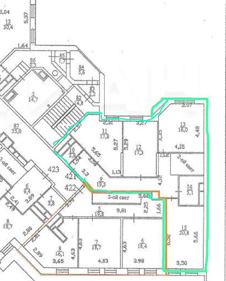 Продажа трёхкомнатной квартиры поселок Горки-10, цена 6750000 рублей, 2021 год объявление №429017 на megabaz.ru