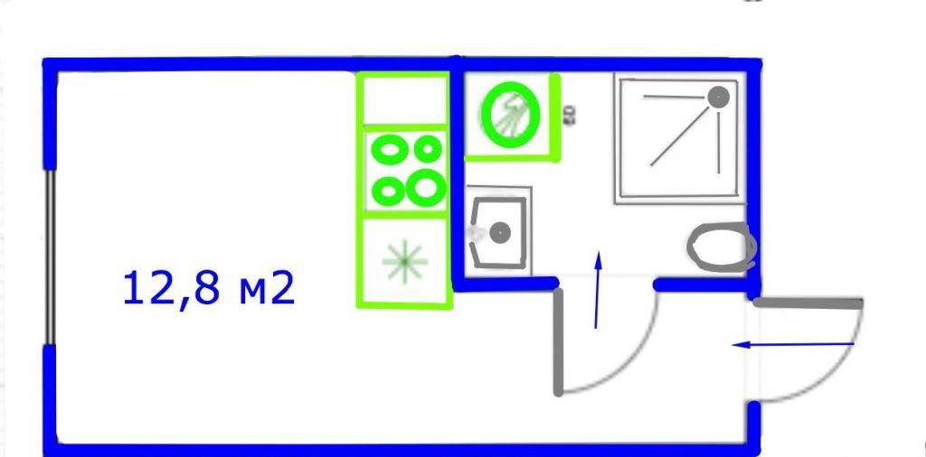 Продажа студии Москва, метро Менделеевская, Новослободская улица 46, цена 3950000 рублей, 2020 год объявление №484158 на megabaz.ru