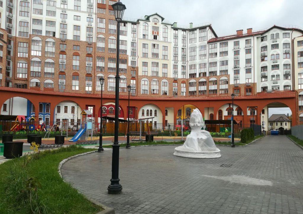 Продажа однокомнатной квартиры поселок Развилка, метро Красногвардейская, Римский проезд 1, цена 6150000 рублей, 2021 год объявление №354969 на megabaz.ru